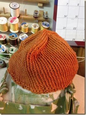 first hat