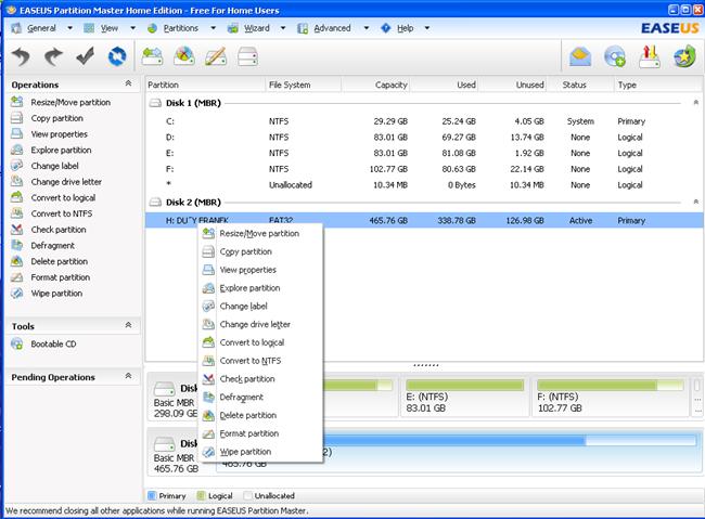 NA NTFS