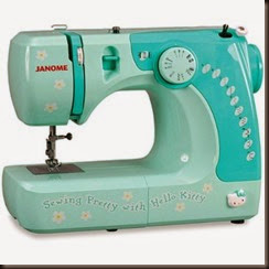 hello-kitty-sewing-machine old faithful!