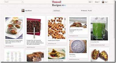 Pinterest - Food