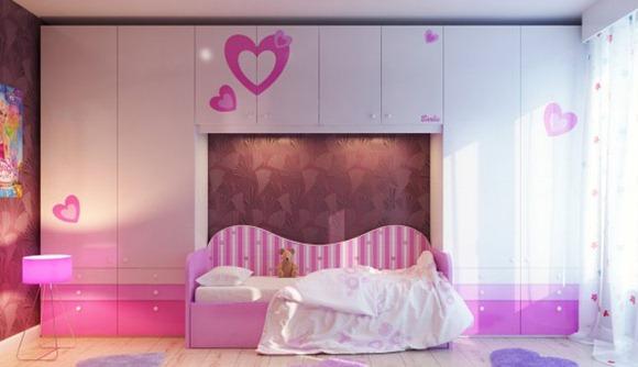 dormitorio muy sencillo