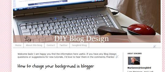diyblogdesign.blogspot.com linklist navbar