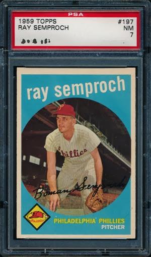 1959 Topps 197 Ray Semproch