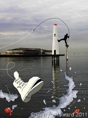 Fly Fishing © Evelyn Howard 2011