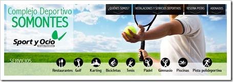 Complejo deportivo somontes 2013