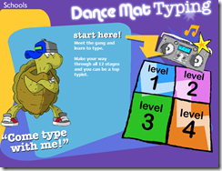 Dance Mat Typing - Teaching Typing Skills to Kids