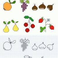 Plantillas Para Hacer Dibujos En Hojas Cuadriculadas Con Distintas