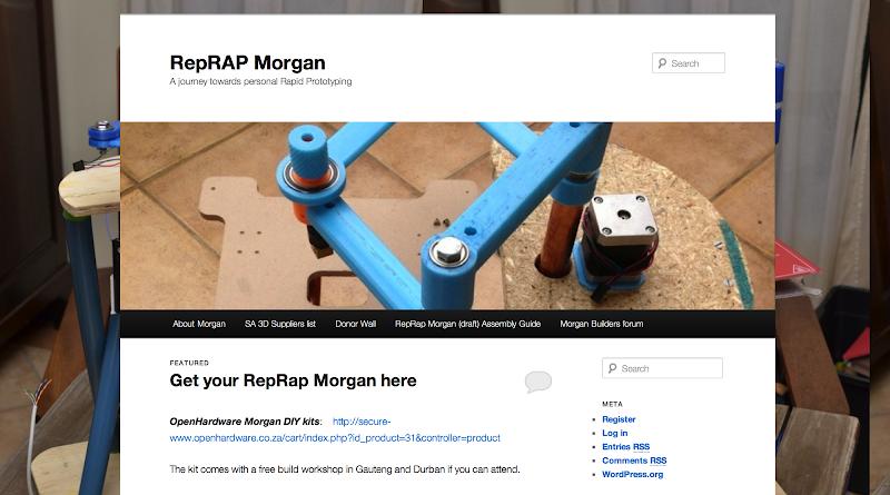 RepRap Morgan Web