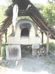 Plimoth Plant outdoor oven