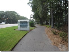 Bike Path along William Hilton Parkway