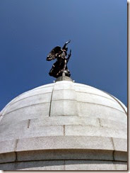 Atop the Dome of Pennsylvania Memorial