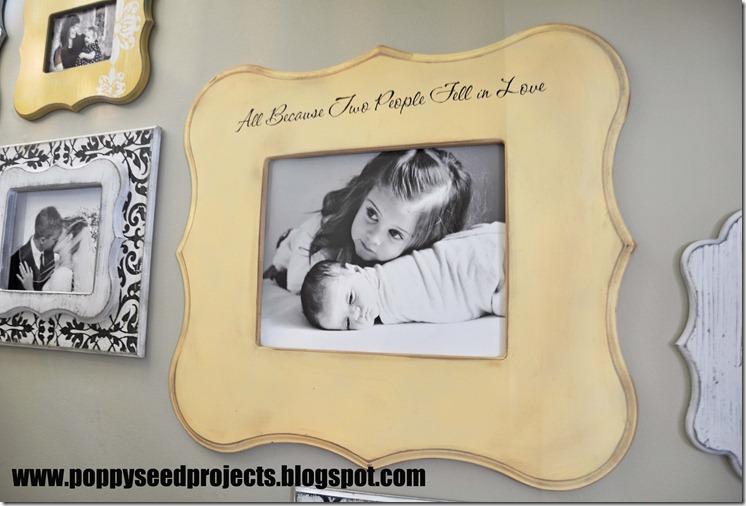 11x14 Eleanor Frame with vinyl