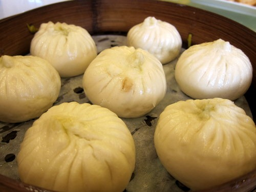 Steamed Buns Stuffed with Pork & Vegetable
