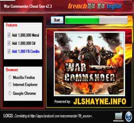 War Commander Cheat Tool