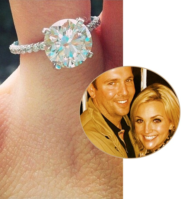 Jamie Lynn Spears Engagement Ring