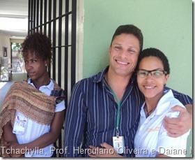 Herculano Oliveira professor do Projeto ViraVida