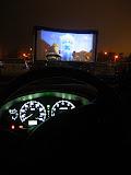 Drive-in theatre in Costa Mesa