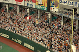 The Yomiuri Giants cheering section