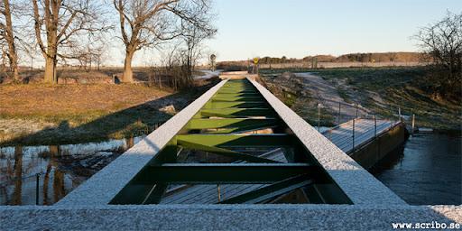 Klastorpsbron med nya brospann