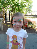 Face painting at Dutch Wonderland! (August)