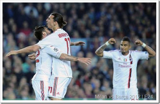 Milan vs Barça 2012 – Una partita, tanta passione e struggente sofferenza
