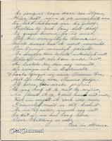 Gedicht 10 jarig bestaan 'Een in Streven' blz. 9