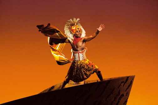 TLK London Andile Gumbi as Simba