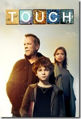 TOUCH:  L-R:  Kiefer Sutherland, David Mazouz and Gugu Mbatha-Raw.  TOUCH makes its World Premiere Thursday, March 22 (9:00-10:00 PM ET/PT) on FOX.  ©2012 Fox Broadcasting Co.  Cr:  Brian Bowen Smith/FOX