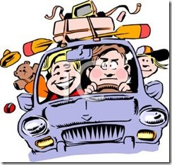 A_Family_In_a_Car_on_Vacation_Royalty_Free_Clipart_Picture_100227-007560-753053