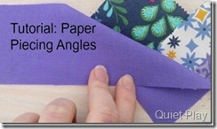 Paper Piecing angles