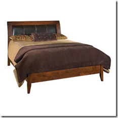 31-150 Stonewater queen platform bed for guest room