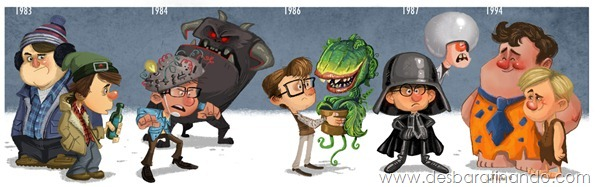 Jeff-Victor-The-Evolution-of-the-Famous-Actors-Rick-Moranis