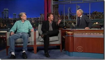 King, Mellencamp, Letterman