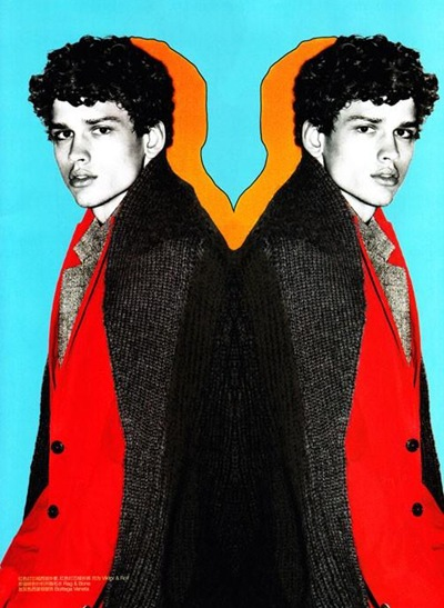 Simon Nessman @ Soul by Enrique Badulescu for GQ China November 2011.  Styled by Sean Spellman.