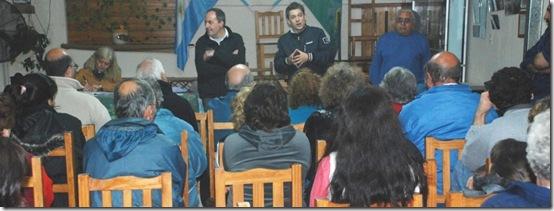 Segunda asamblea del Presupuesto Participativo en Las Toninas