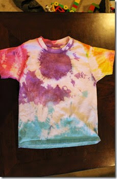 Multi-Color Tie Dyed Shirt3