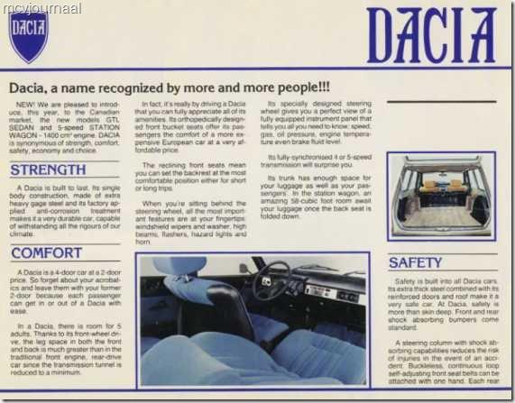 Dacia 1300 folder 02