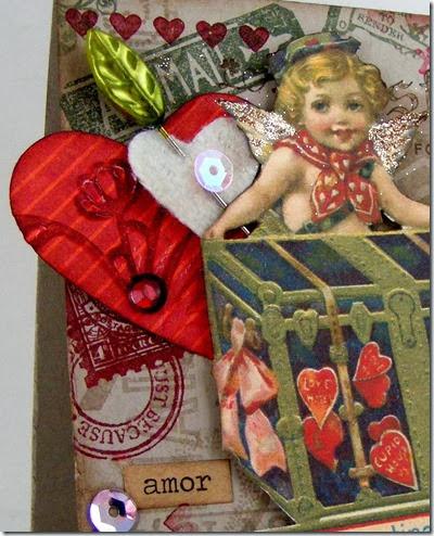LeAnne Pugliese WeeInklings Vintage Valentine Card Stampin-001