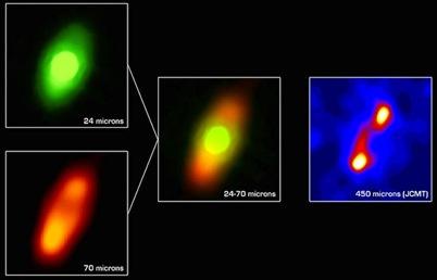 disco circunestelar na estrela Fomalhaut