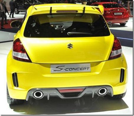 2012 Suzuki Swift Sport Concept rear