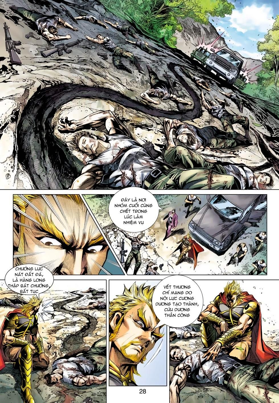 Tân Tác Long Hổ Môn chap 488 - Trang 27