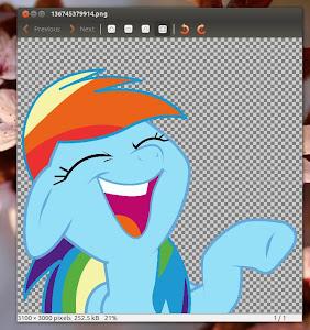 Eye of GNOME in Ubuntu 13.04 Raring