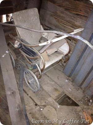 vintage baby buggy -pram