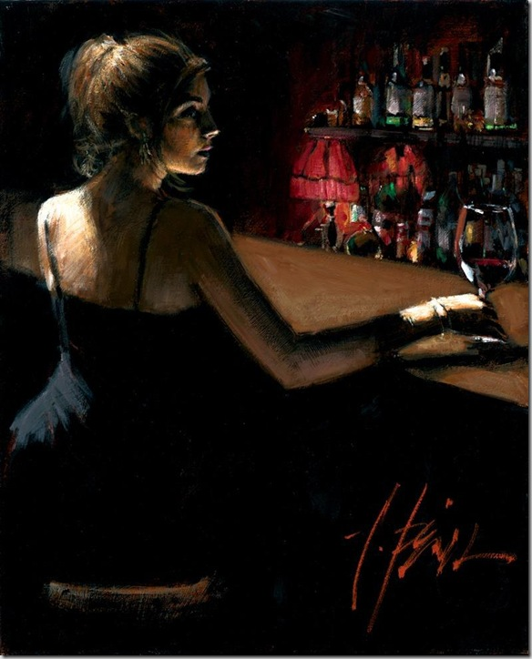 Fabian Perez 1967 - Argentine Figurative painter - Reflections of a Dream - Tutt'Art@ (20)