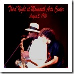 1976.08.03 - Third Night at Monmouth Arts Center – Original Master Series (Fanatic Records)