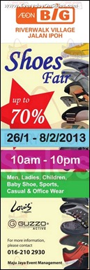 AEON BiG Shoe Fair 2013 Branded Shopping Save Money EverydayOnSales