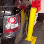 serious parking job in Toronto, Ontario, Canada