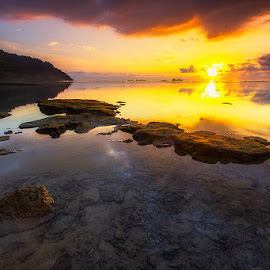 Beatiufull Moment by Jeriadi Pratama - Landscapes Sunsets & Sunrises ( #nature #landscape #seascape #sunset )