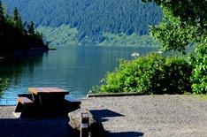 Meziadin Lake PP campsite