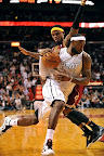 lebron james nba 121124 mia vs cle 10 LeBron Introduces the Ambassador but Switches to X in 2nd Half